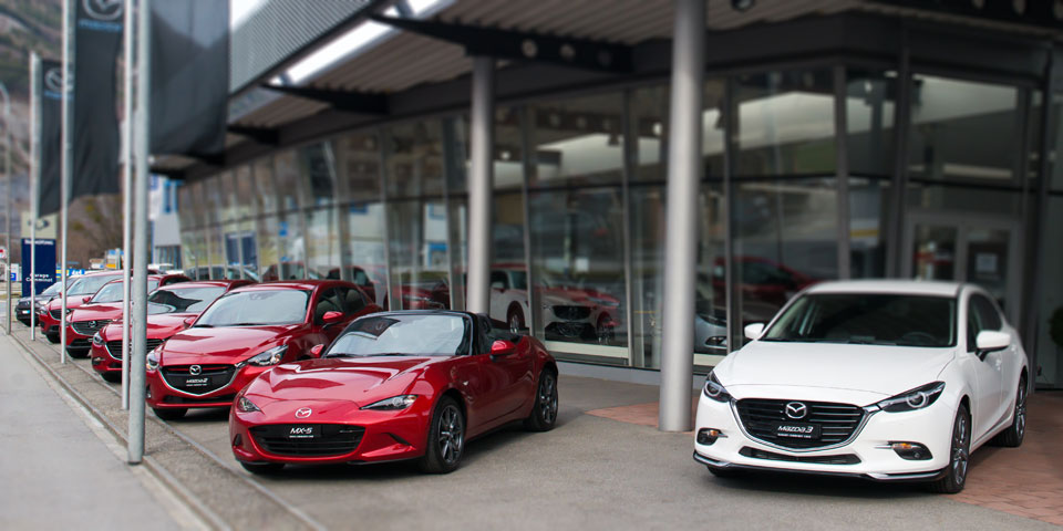 Mazda-Modelle der Garage Comminot Chur