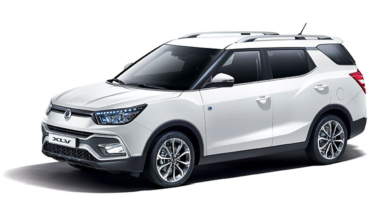 SsangYong XLV bei Garage Comminot Chur